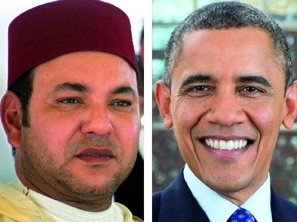 Entretien téléphonique entre S.M le Roi et le président Obama : Les deux chefs d'Etat conviennent d'un échange de visites