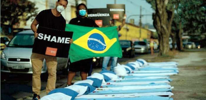 La guerre des vaccins au coeur d' un sommet de l'UE Le Brésil dépasse les 300.000 morts