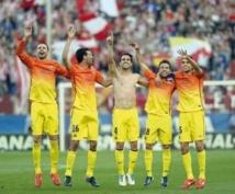 La fête du titre du Barça gâchée par la blessure de Messi