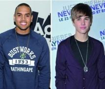 Chris Brown et Justin Bieber sont les chanteurs les plus détestés des Américains