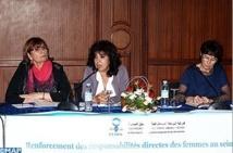 Création d'un réseau féminin maroco-français des élues