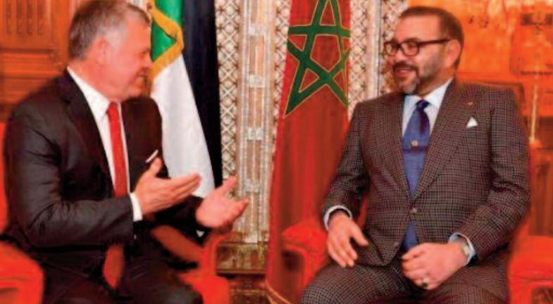 Entretien téléphonique entre S.M Mohammed VI et S.M Abdallah II
