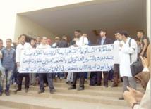 Les enseignants d'un lycée qualifiant en sit-in à Casablanca