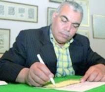 Les œuvres du calligraphe Mohamed Qarmad admirées par le public chilien