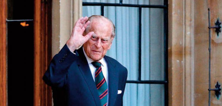 L'époux de la reine Elizabeth II, le prince Philip est mort