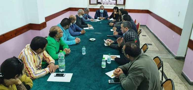 Tournée de Driss Lachguar dans plusieurs secrétariats provinciaux de l'USFP