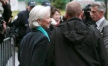 Deuxième journée d'audition pour Lagarde devant la justice