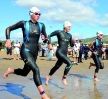 Plus de 400 participants au 3ème triathlon d'Agadir
