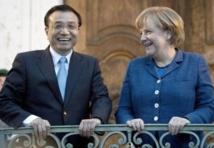 Merkel s'engage à éviter une guerre commerciale entre la Chine et l'Union Européenne