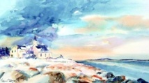 """L'aquarelliste canadienne Virginie Tanguay : """"Je suis inspirée par le folklore et le quotidien des Québécois"""""""