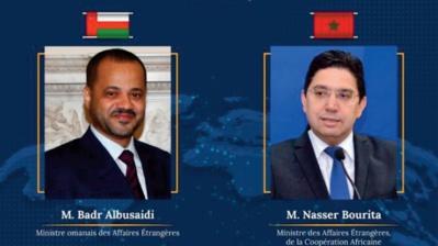 Nasser Bourita s'entretient avec son homologue omanais