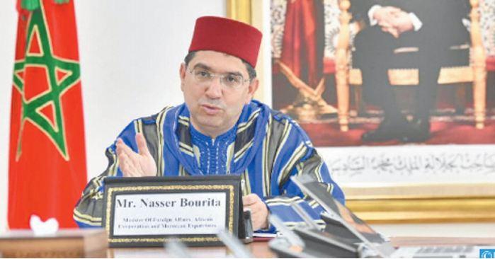 Nasser Bourita s'entretient avec Olivér Várhelyi