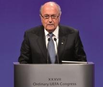 Joseph Blatter donne le ton