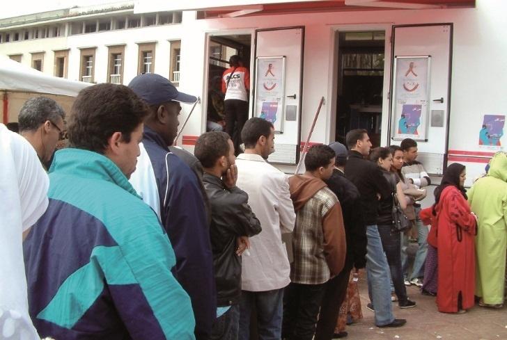 Le sida évolue de manière inquiétante : Le nombre de personnes atteintes au Maroc a augmenté de 52 % entre 2007 et 2011