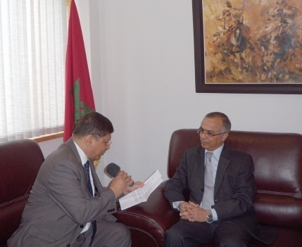 L'ambassadeur du Maroc en France Chakib Benmoussa