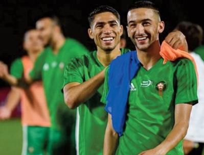 Super Ligue: Reverra-t-on Hakim Ziyech et Achraf Hakimi en équipe nationale ?