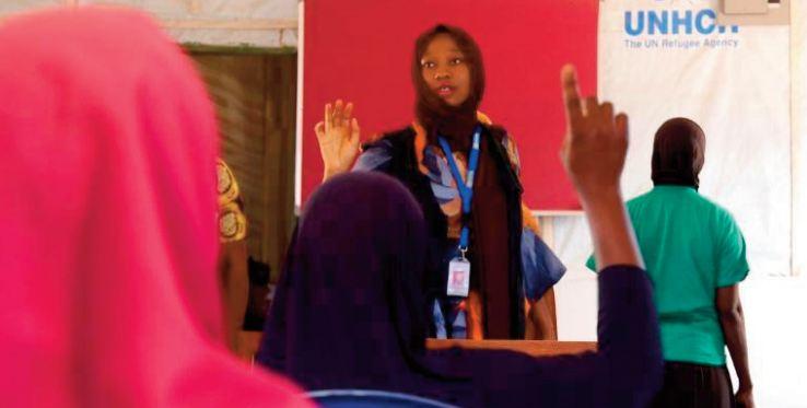 Le difficile combat de Mariam Oyiza pour les femmes du nord-est du Nigeria