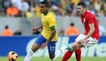 Le Brésil accroché, en amical, par l'Angleterre