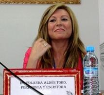 Une plaque dédiée à la poète Yolanda Aldon