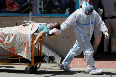 Record mondial d'infections à la Covid-19 en Inde