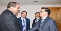 Driss Lachgar reçoit une délégation du PC vietnamien