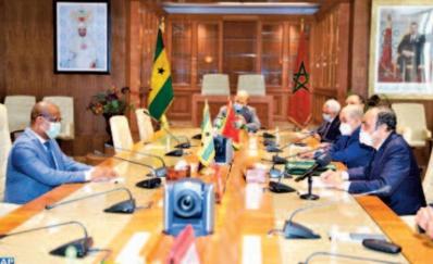 Le président de l'Assemblée nationale de SaoTomé-et-Principe réaffirme le soutien de son pays à la marocanité du Sahara