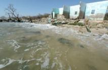 Saint-Louis, ville historique, menacée d'être engloutie par les eaux