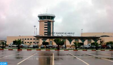 L'aéroport de Nador enregistre une baisse de son trafic passagers à fin mars