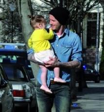 Beckham un papa poule