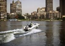 Au Caire, un taxi sur le Nil pour fuir une circulation infernale