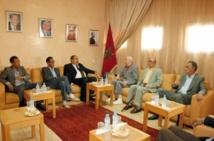 Le Premier secrétaire de l'USFP reçoit Mohamed Abrouk