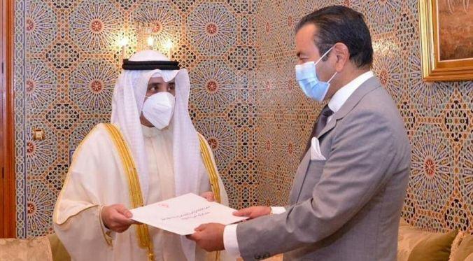 Message de l'Emir de l'Etat du Koweït à S.M le Roi