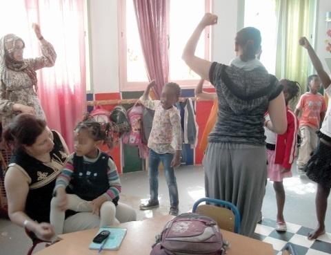 L'accès à l'éducation pour les enfants réfugiés au Maroc