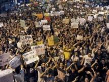 Les  violences se poursuivent au Brésil malgré la baisse du prix des transports