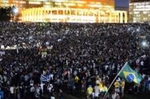 Un million de manifestants au Brésil