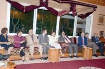 Driss Lachgar s'entretient avec une délégation du Parlement européen