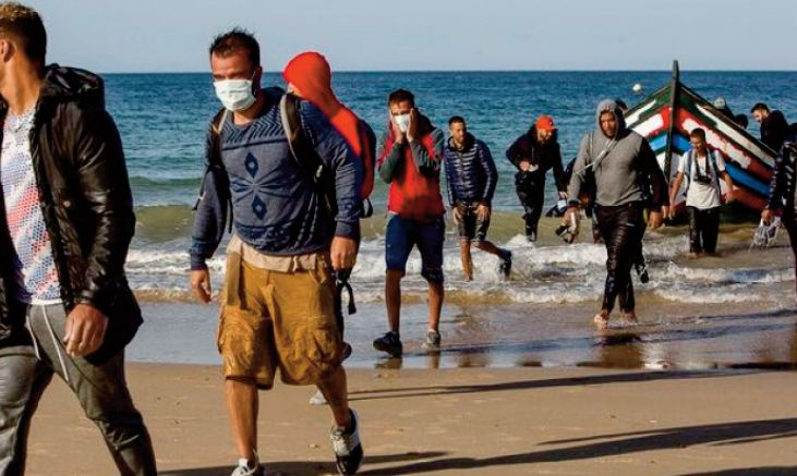 Les migrants irréguliers marocains au Top 4 des nationalités les plus représentées aux Balkans