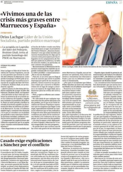 Les relations maroco-espagnoles traversent la plus grande crise de leur histoire