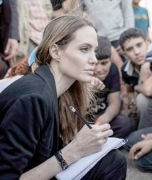 Angelina Jolie s'engage pour la Syrie