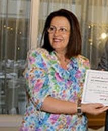 Aïcha Benamour-Benis lauréate du premier Prix Gutenberg du livre en langue française