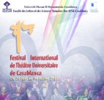 Coup d'envoi de la 25ème édition du Théâtre universitaire de Casablanca