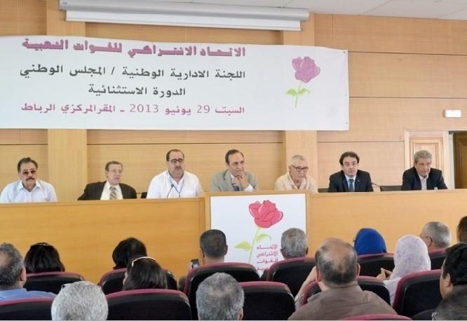 L'USFP, parti fédérateur de la gauche marocaine