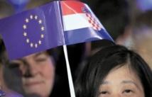La Croatie devient le 28ème  membre de l'Union européenne