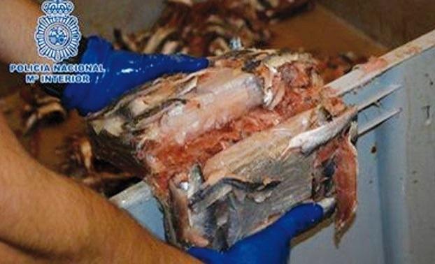 Sardines marocaines et haschich tout aussi marocain
