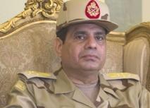 Le général Abdel Fattah al-Sissi,  nouvel homme fort de l'Egypte