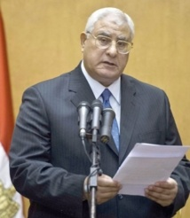 Adly Mansour porté à la tête du pays arabe le plus peuplé
