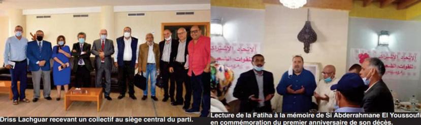 Intenses activités de Driss Lachguar à Daraâ-Tafilalet