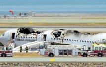 Deux morts et 182 blessés dans un crash d'avion à San Francisco