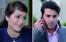 Les comédiens Kalila Bounaylat et Hicham Bahloul