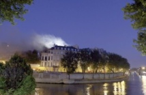 Incendie dans l'un des plus prestigieux hôtels de Paris